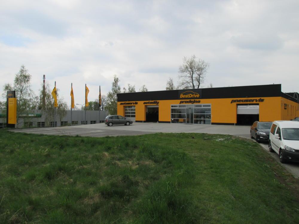 Nově otevřená pobočka vPísku – nový standard prodejen BestDrive